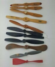 """RC Plane Hobby Propeller Prop Many Sizes Replacement Part Vtg Wood & Plastic 6"""""""