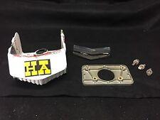 Kawasaki js440 js550 handle pole bracket with plate