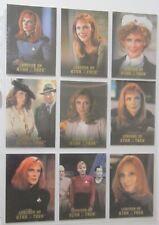 ST TNG - Legends of Star Trek - Dr Crusher - 9 Cards Set - limitiert 1701 Sets