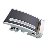 Automatic Slide Buckle Replacements Alloy Ratchet Belt Buckle Business Men's