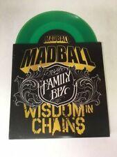 MADBALL WISDOM IN CHAINS FAMILY BIZ 7 INCH GREEN VINYL RECORD GERMAN IMPORT NEW