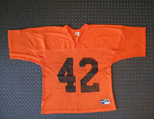 Chicago Bears #42 Practice Jersey NFL Football Orange Size Adult S M - NOS