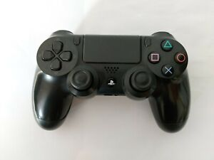 Sony PS4 Official DualShock 4 Controller V2 Jet Black - Tested and Working