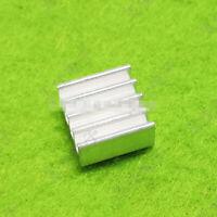 electronic chip heat sink 7*7*3MM 100 PCS Miniature aluminum heat sink