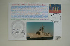 HOCKADAY COVER SPECIAL SERIES 4 No 7 USS AUBREY FITCH - SIGNED CDR. S.S.KING C/O