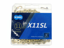 KMC X11SL Ti-N Gold 11-speed Super Light Bike Chain 118L Retail Pack