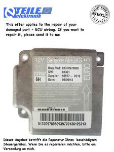 Reparatur von Autoelektronik ECU-airbag Boxer, Ducato, Jumper 01370978080 EURO 5
