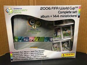 World Cup Germany 2006 SET FULL Mini Sticker Panini Messi Ronaldo Rookie Sealed