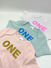 Baby first birthday shirt toddler 1st birthday gift kids party cotton bodysuit