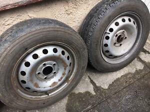 Renault trafic, Vivaro steel Wheels with tyre spare wheel 2001-2014
