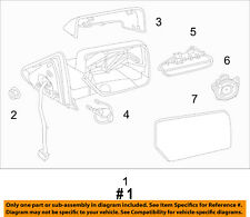 FORD OEM 12-16 Expedition Door Side Rear View-Mirror Assy Right CL1Z17682AA