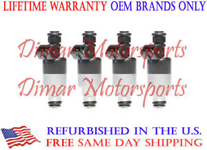 1996-2001 SATURN SL2 1.9L OEM Fuel Injector Set