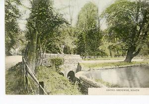 """ WALES ""GLAMORGAN  NEATH     GNOLL  GROUNDS       1904/17s"