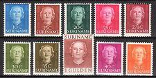 Suriname - 1951 Definitives Juliana - Mi. 320-29 MNH