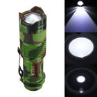 Tactical 1200lm CREE Q5 LED Zoomable Focus Flashlight Torch Lamp Light AA/14500