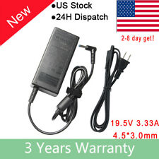 19.5V 3.33A 65W AC Adapter Charger Power for HP Pavilion 15 Series 4.5/3.0mm New