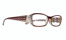 Women's Classic Reading Glasses made with Swarovski Crystals