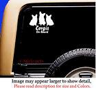 Corgi Corgis On Board Original Design Dog Vinyl Car Decal Sticker Pet RV