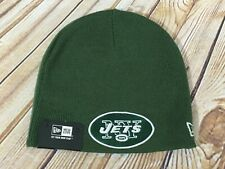 New Era NY JETS NFL Knit Beanie Hat Cap Adult One Size Fits All NWT NEW YORK