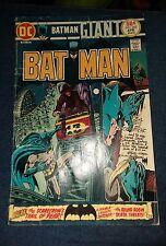 Batman #262 rare DC VG classic scarecrow carnival cover bronze age denny o'neil