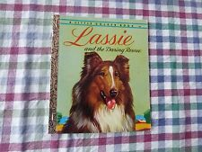 LITTLE GOLDEN BOOK -  LASSIE AND THE DARING RESCUE - (PAPERBACK)