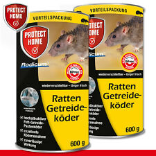 Protect Home 2 x 600 Outil Rodicum Ratten Appât