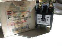 Cutler Hammer C25DND230A Definite Purpose Contactor 2 Pole 30A 110-120VAC