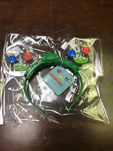 DISNEY PARKS TOY STORY GLOW EARS LIGHT-UP MICKEY MOUSE EAR CHRISTMAS (New)