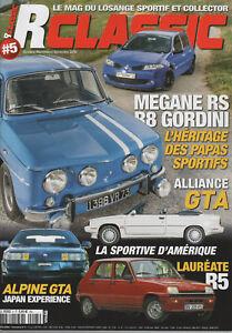 RCLASSIC 5 R5 TL LAUREATE MEGANE II RS RENAULT GTA 87 R8 ALCONI ALPINE GTA V6 TU