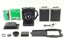 Mint Horseman 45FA Camera 120mm f5.6 Lens 4x5 Cut Film Holer 120 8Exp Back Japan