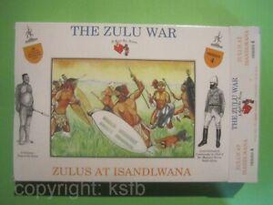 1:32 Figuren Call to Arms #04 Kolonialkrieg Zulu Krieger in Islandwana Afrika