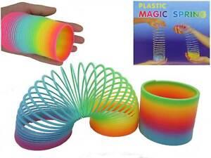 Spirale XL Spielzeug Treppenläufer Mitbringsel Regenbogenspirale Mitgebsel Cool