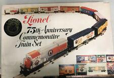 LIONEL 75TH ANNIVERSARY COMMEMORATIVE TRAIN SET #6-7500