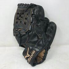 "Mizuno MVP Prime Professional Model Black Leather Glove 1200P 12"" RHT Oil Soft"