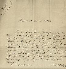 Rimborso Spese pel Funerale di Sua Ecc. Reverend. Mons. Sozzifanti Pistoia 1883