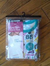 NIP LADIES JOE BOXER THERMAL UNDERWEAR TOP MULTI-COLOR PATTERN 2XL BUST 45-47
