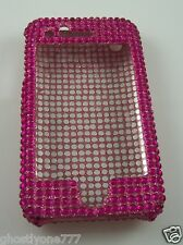 for Iphone 3G phone case bling fuscia pink crystal