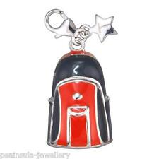 Tingle Rucksack Sterling Silver clip on Charm with Gift Bag and Box