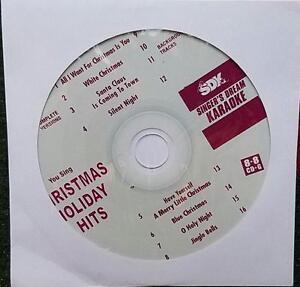 CHRISTMAS HOLIDAY HITS KARAOKE CDGM CD+G MULTIPLEX 8+8 SILENT NIGHT SDK9055