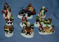 Department 56 HV Series Christmas Village Mini Small People Dog Figures Lot 16