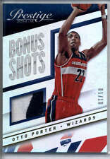 Otto Porter Jersey Patch SP 2014-15 Prestige Bonus Shots #87 /10 Mint Wizards