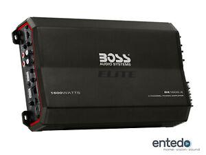 BOSS AUDIO BE1600.4 4 Kanal Verstärker Endstufe Amplifier Car Auto KFZ PKW NEU