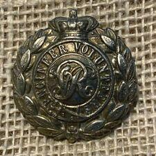More details for royal engineers volunteers victorian cap badge
