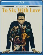 To Sir, With Love Blu-Ray - TWILIGHT TIME - Limited Edition  Sidney Poitier NEW