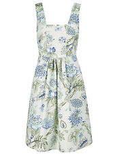 Joe Browns GREEN Floral Print Vintage SLEEVELESS Tea Dress - Plus Size 14 to 32