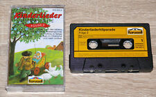 Kinderliederhitparade, Folge 2 (1989) MC, Kinderchöre, Volkslieder, gebraucht