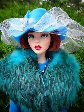 "AllforDoll OOAK Fur Outfit for 16"" Tonner Brenda Sybarite Ficon Ellowyne Dolls"