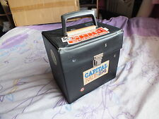 Retro / Vintage 70's / 80's 7 inch vinyl single record carry case.