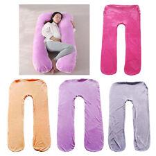 Removable Cover Maternity Pregnancy Body U Shape Pillowcase