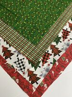 Bundle Of  4 CHRISTMAS HOLIDAY New 100% Cotton Fabric Fat Quarters